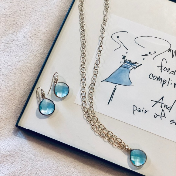 Stella & Dot Jewelry - Stella and Dot necklace and earring set